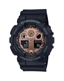 G-Shock Classic Negro y Bronce de Hombre GA-100MMC-1A