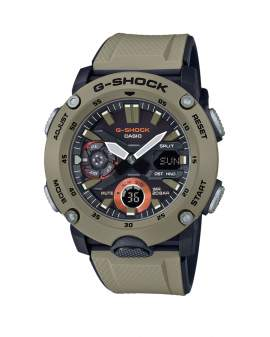 G-Shock Carbon Core Guard Crema de Hombre GA-2000-5A