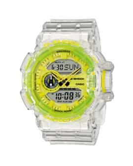 G-Shock Trending Transparente y Verde Neon de Hombre...